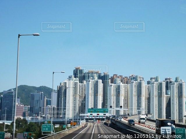 超高層ビル群の写真・画像素材[1205315]