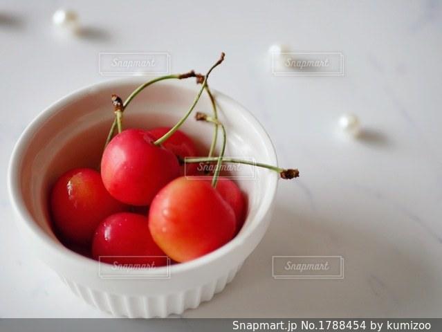 さくらんぼの写真・画像素材[1788454]