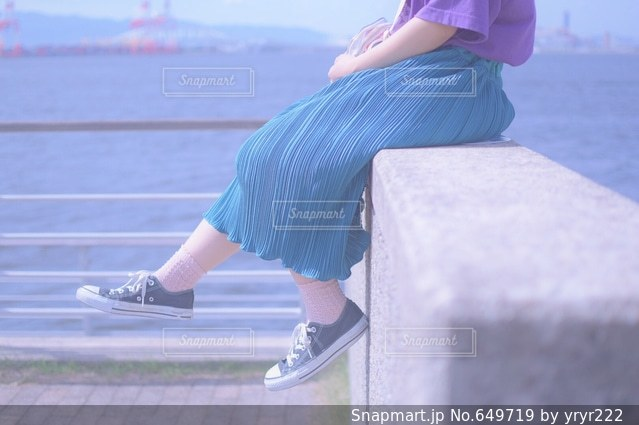 女性の写真・画像素材[649719]
