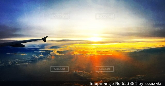 空の写真・画像素材[653884]