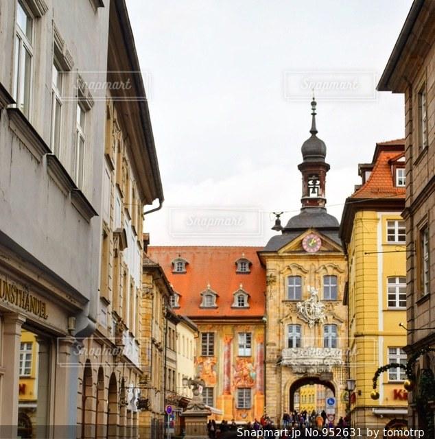 ドイツ・バンベルクの街並みの写真・画像素材[952631]