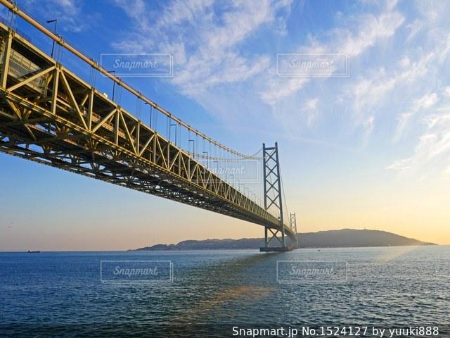 明石海峡大橋の写真・画像素材[1524127]