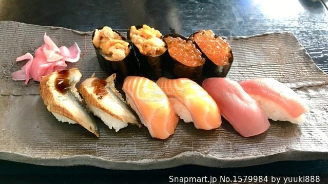 寿司の写真・画像素材[1579984]