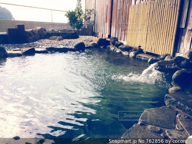 露天風呂の写真・画像素材[762856]