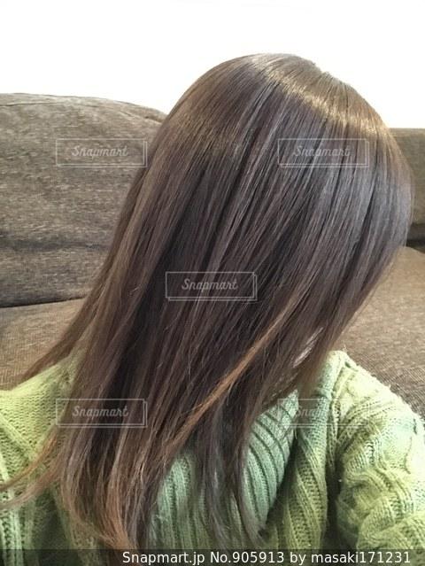 髪の毛の写真・画像素材[905913]