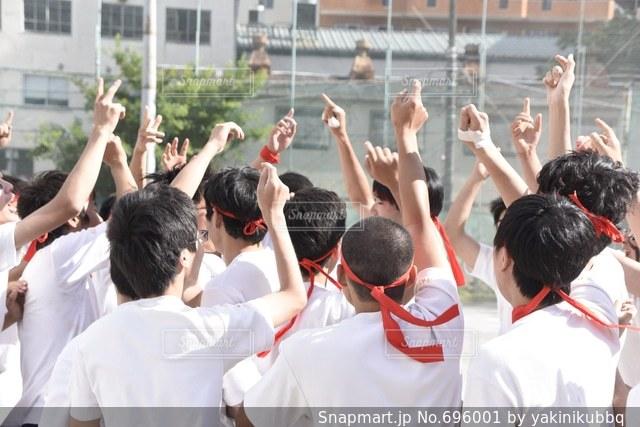 体育祭の写真・画像素材[696001]