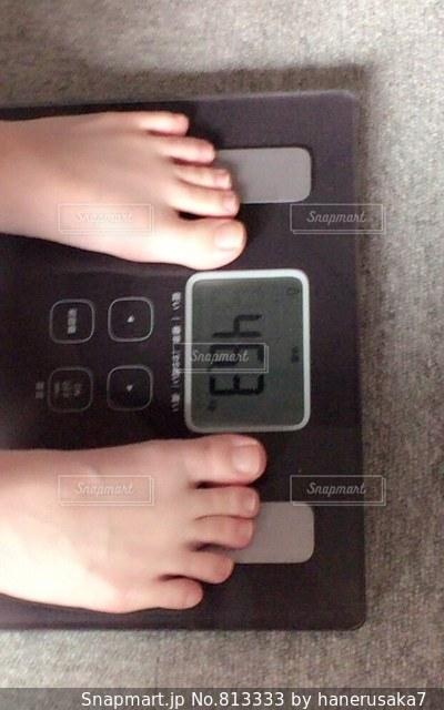 体重計の写真・画像素材[813333]