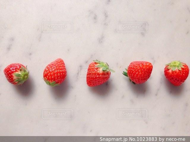イチゴの写真・画像素材[1023883]