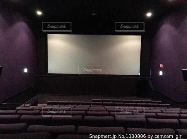 映画館のスクリーンの写真・画像素材[1030806]