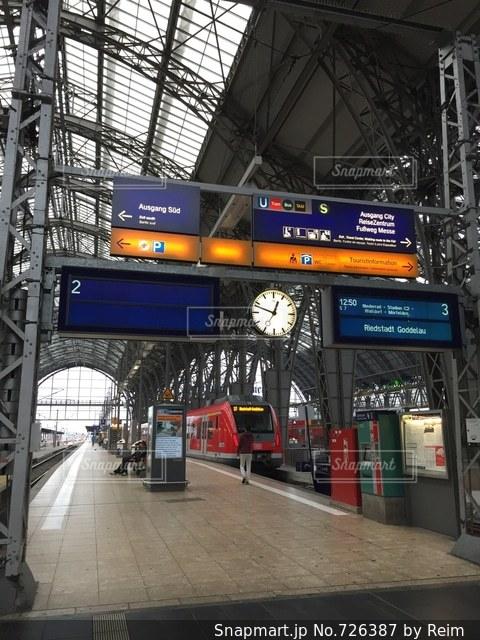 外国の駅の風景 フランクフルト ドイツの写真・画像素材[726387]