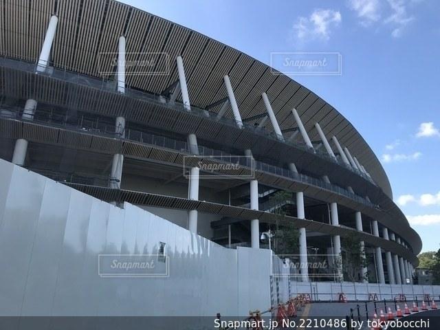 新国立競技場の写真・画像素材[2210486]