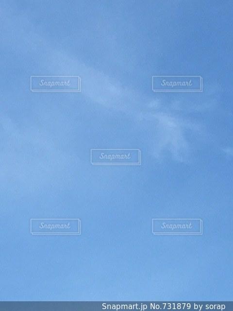 青い空の写真・画像素材[731879]