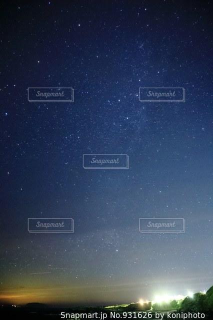 三宅島の夜空の写真・画像素材[931626]