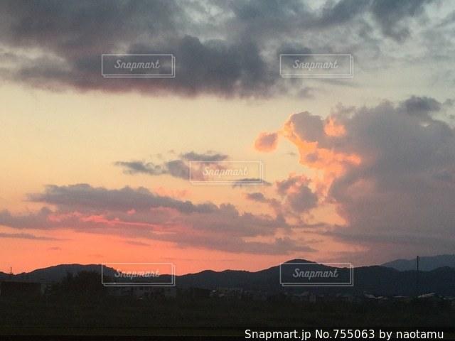 空の雲の写真・画像素材[755063]