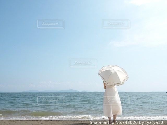 夏の思い出の写真・画像素材[748026]