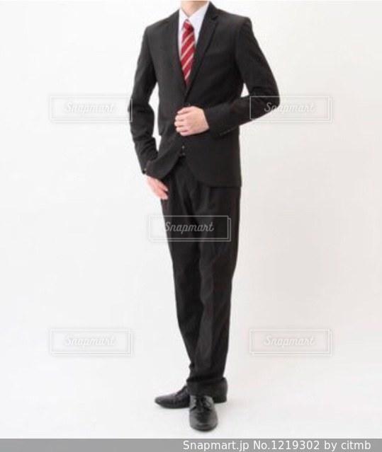 スーツの写真の写真・画像素材[1219302]