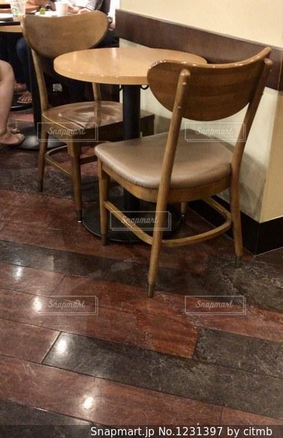 カフェの店内の写真・画像素材[1231397]