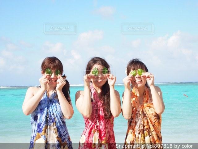 グアムのビーチで♪ - No.807818