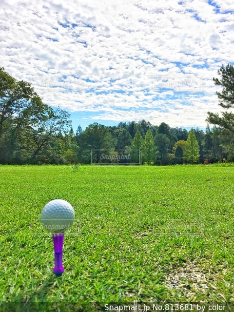 ゴルフ日和③の写真・画像素材[813681]
