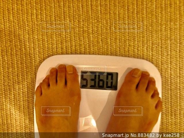 体重計の写真・画像素材[883482]