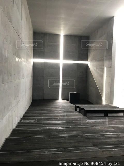 ひかりの教会の写真・画像素材[908454]