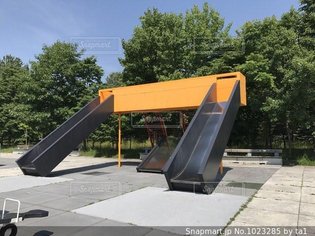 モエレ沼公園の遊具の写真・画像素材[1023285]