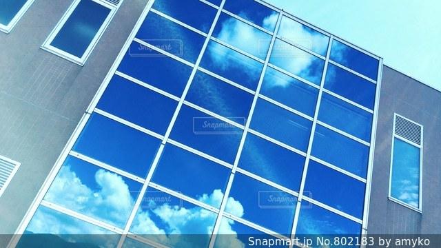 青空が映るの写真・画像素材[802183]