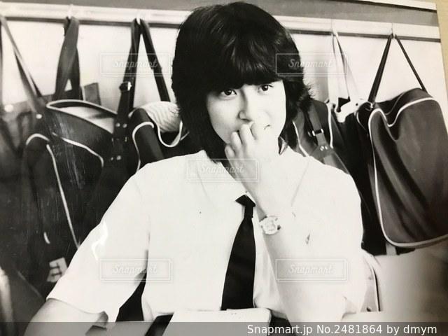 昭和の高校生の写真・画像素材[2481864]