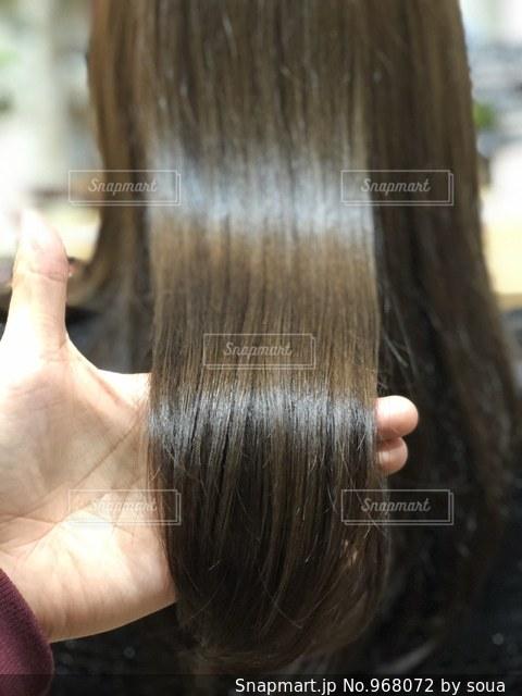 ツヤ髪の写真の写真・画像素材[968072]
