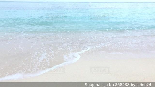 恩納村のビーチの写真・画像素材[868488]
