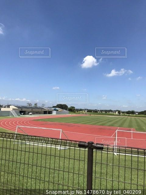 運動場の写真・画像素材[1478670]