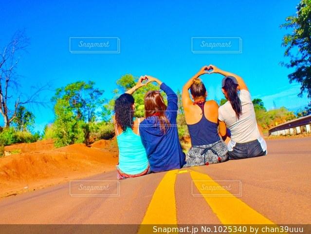 女子旅、ハワイの写真・画像素材[1025340]