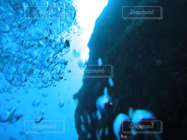 海の中の写真・画像素材[121492]