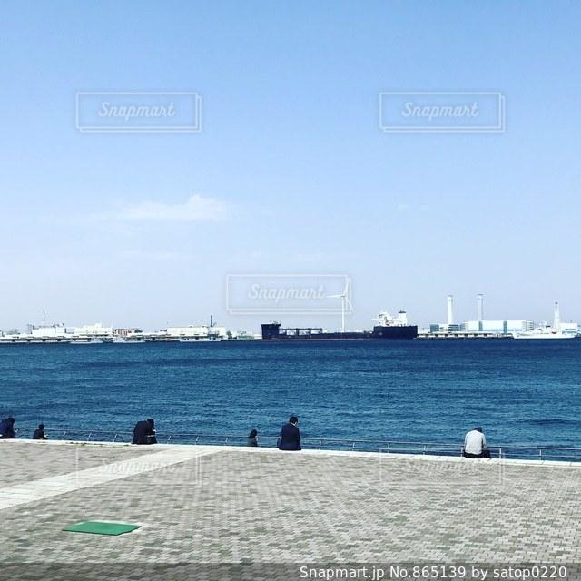 横浜の海の写真・画像素材[865139]