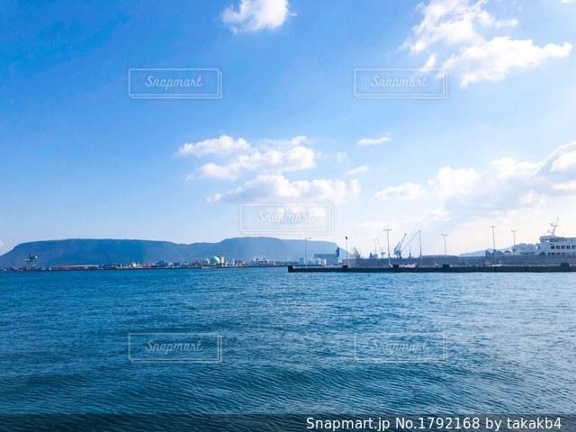 香川 高松の海 瀬戸内海 オーシャンビューの写真・画像素材[1792168]