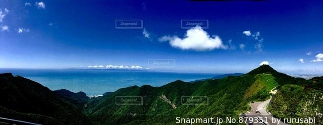 海の見える風景の写真・画像素材[879351]