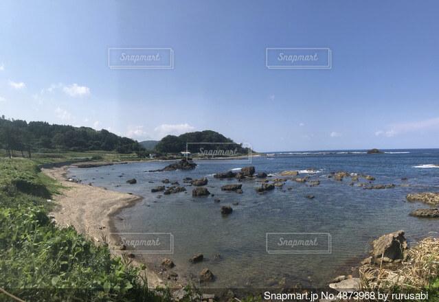 水辺と空の写真・画像素材[4873968]