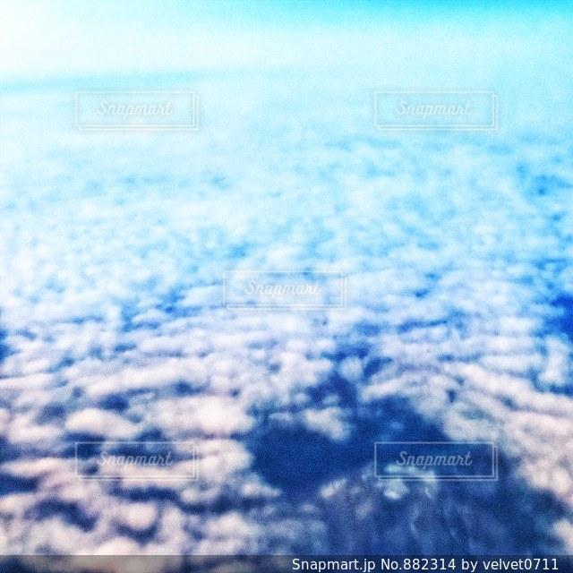 雲の上の写真・画像素材[882314]