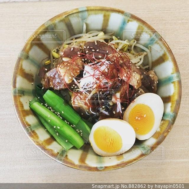 角煮丼の写真・画像素材[882862]