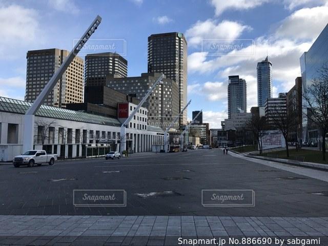 都市の高層ビルの写真・画像素材[886690]