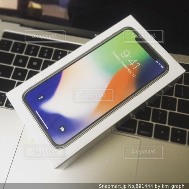 iPhone Xの写真・画像素材[891444]