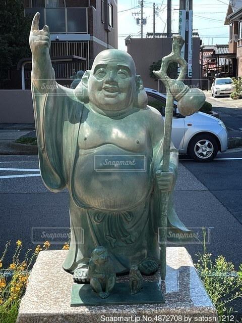 街中に七福神①の写真・画像素材[4872708]