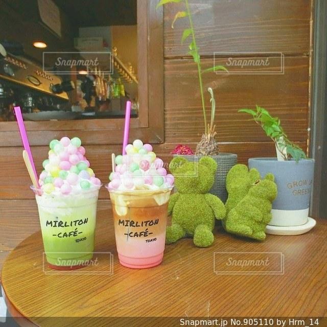 少し和風のカフェの写真・画像素材[905110]