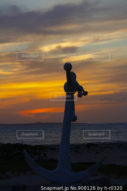 夕焼け。の写真・画像素材[908126]