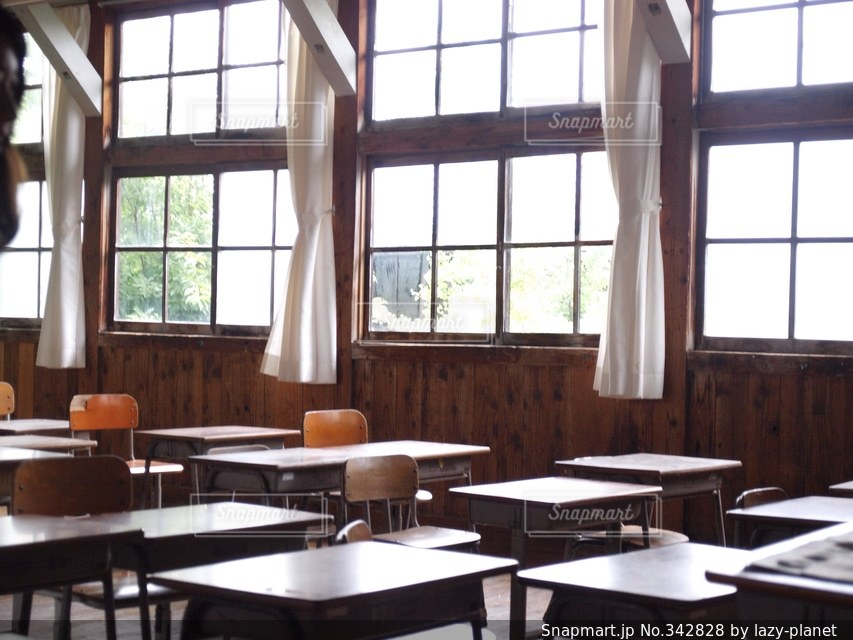 校舎の写真・画像素材[342828]