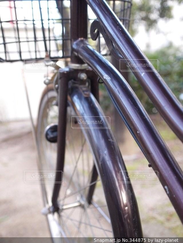 自転車の写真・画像素材[344875]