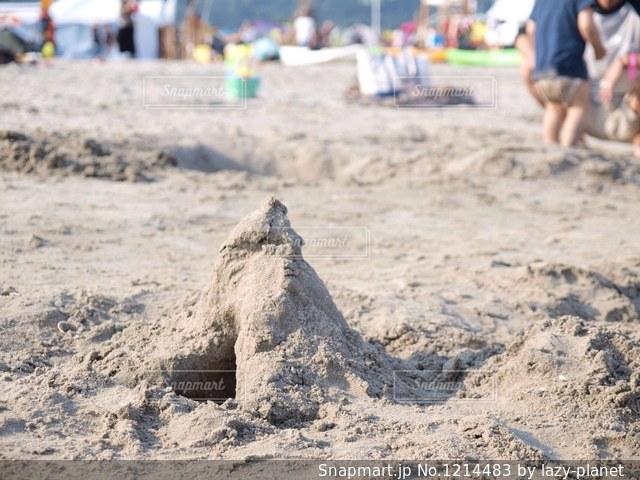 砂浜の写真・画像素材[1214483]