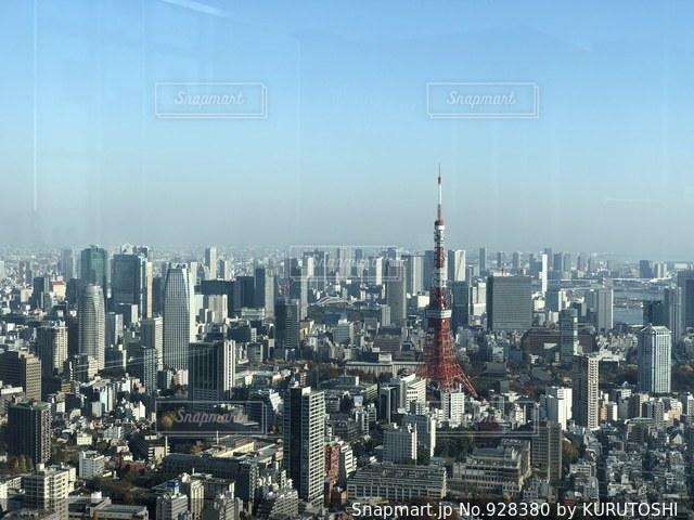 東京の高層ビルの景色の写真・画像素材[928380]