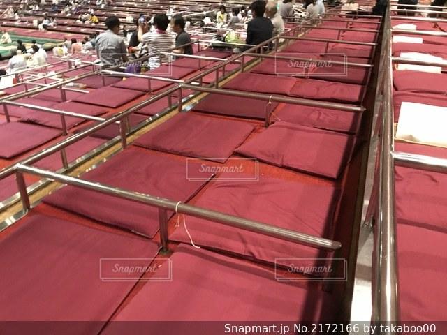 両国国技館での大相撲五月場所の升席の写真・画像素材[2172166]