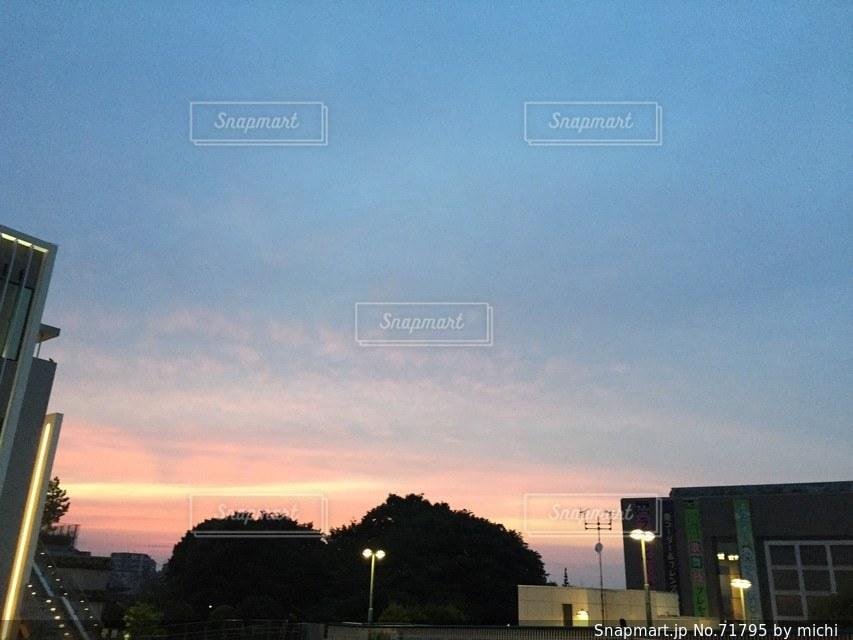 夕方の写真・画像素材[71795]